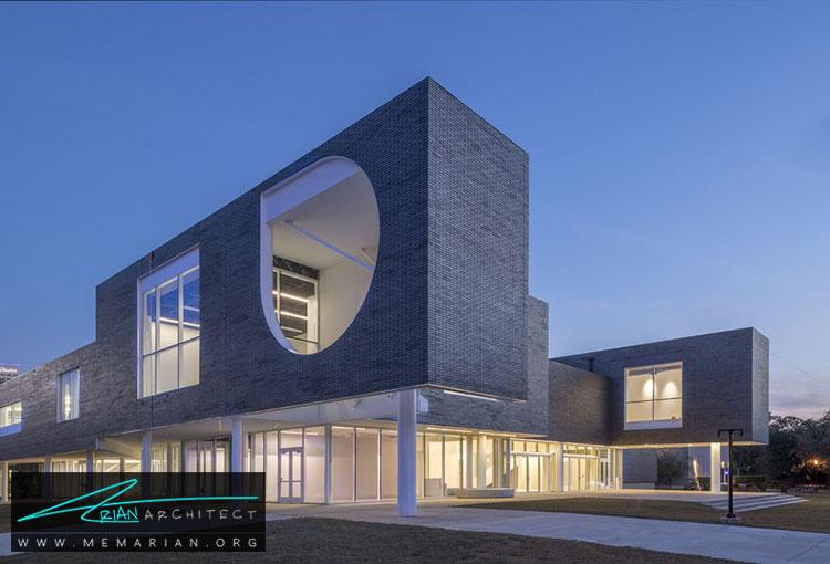 معماری ساختمان دانشگاه رایس - 9 نمونه از بهترین ساختمانهای جدید دانشگاه در سراسر جهان