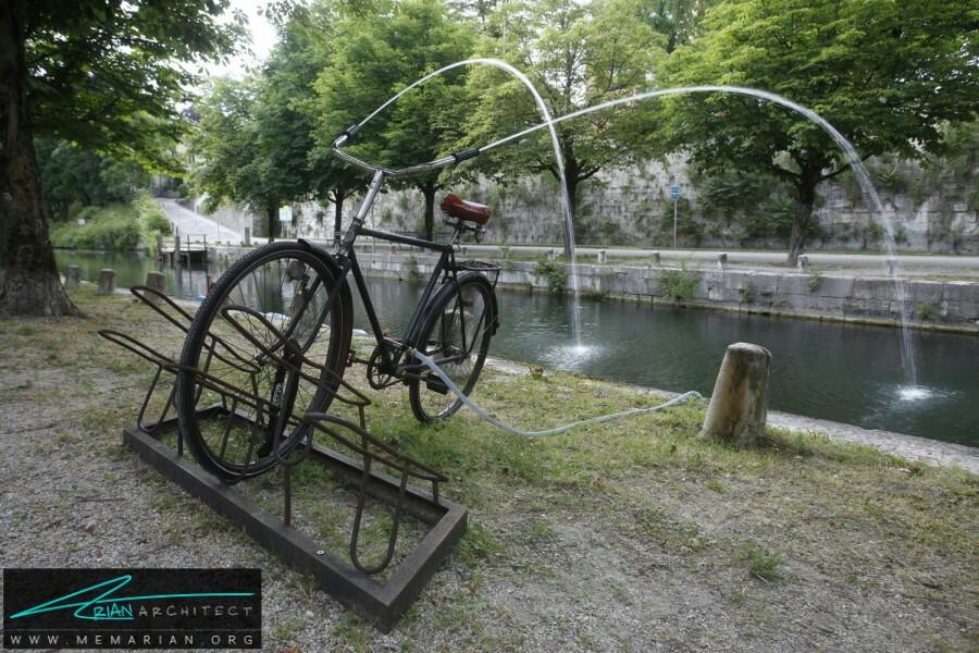 ایده های جذاب و متفاوت پراکنده در شهر - آثار هنری خیابانی