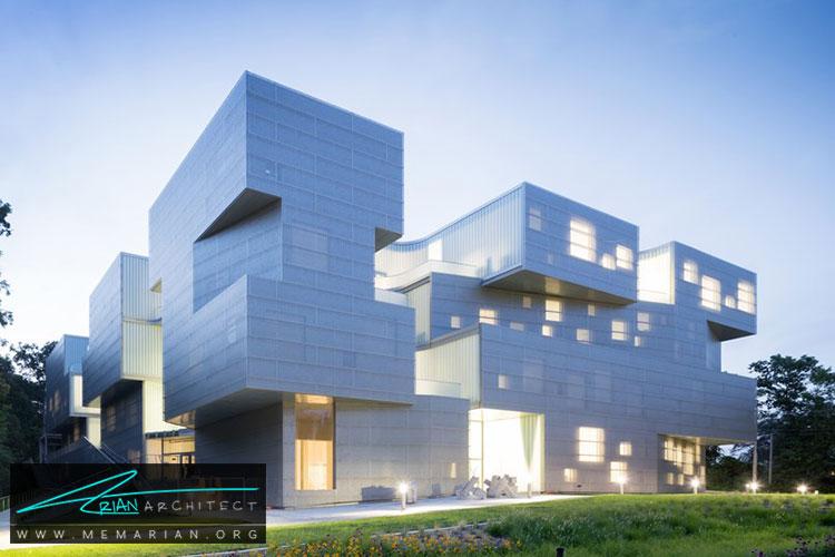 معماری ساختمان هنرهای تجسمی - 9 نمونه از بهترین ساختمانهای جدید دانشگاه در سراسر جهان