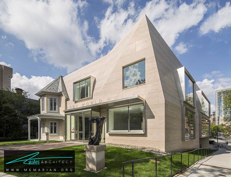 معماری ساختمان دانشگاه پنسیلوانیا - 9 نمونه از بهترین ساختمانهای جدید دانشگاه در سراسر جهان