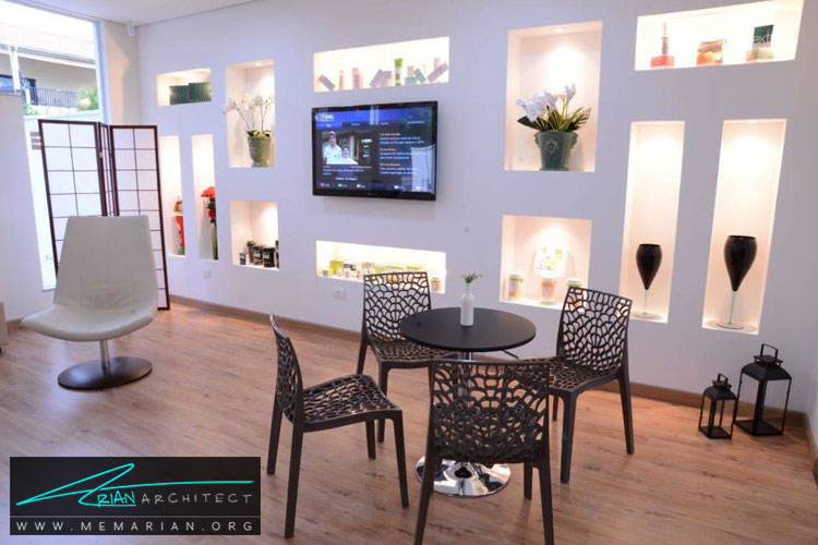طراحی دیوار با نورپردازی - 10 ایده طراحی دیوار با طراحی خلاقانه
