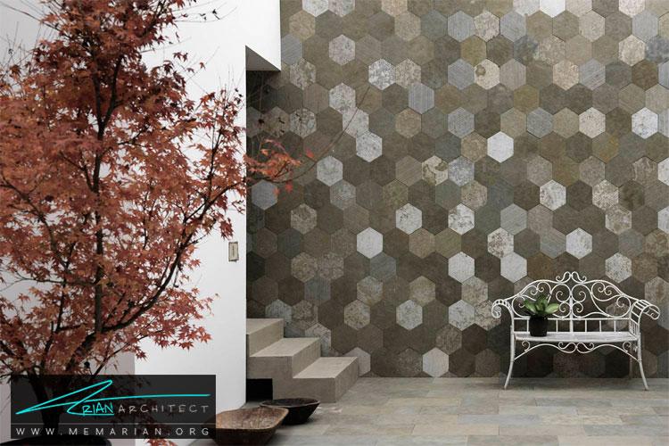 طراحی دیوار با کاغذ دیواری - 10 ایده طراحی دیوار با طراحی خلاقانه