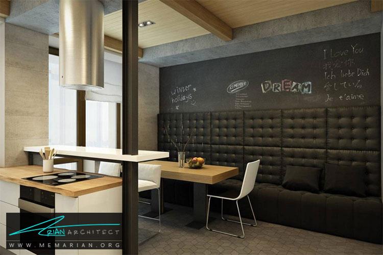 طراحی دیوار با تخته سیاه - 10 ایده طراحی دیوار با طراحی خلاقانه