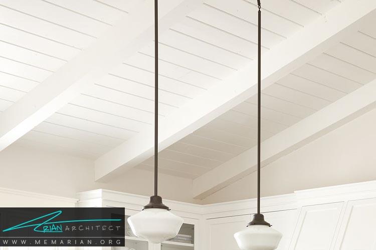 فضای بازسازی شده - دکوراسیون رنگ سفید در آشپزخانه