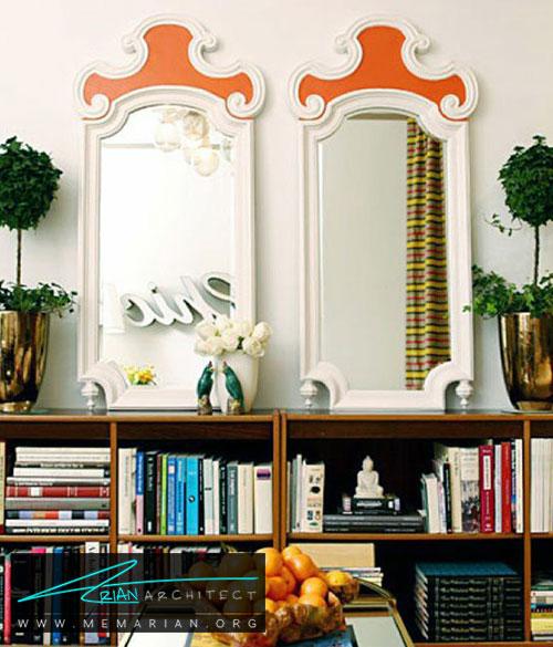 آینه های متقارن - شیک ترین ایده های دکوراسیون با آینه