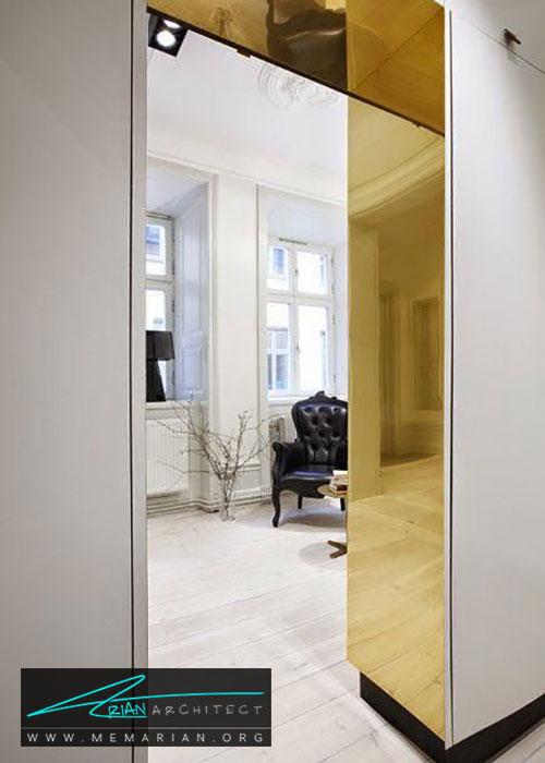 آینه در ورودی - شیک ترین ایده های دکوراسیون با آینه