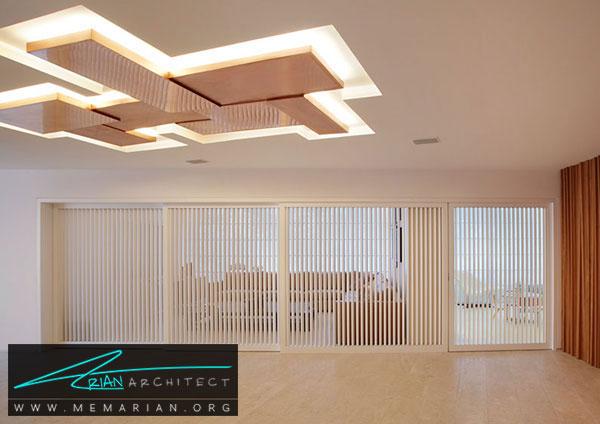 سقف کناف - مدل های دکوراسیون داخلی با سقف کاذب