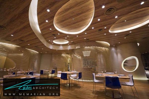 سقف کاذب چوبی - مدل های سقف کاذب در دکوراسیون داخلی