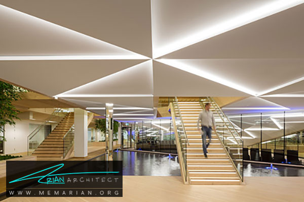 سقف کناف در مراکز تجاری - مدل های سقف کاذب در دکوراسیون داخلی