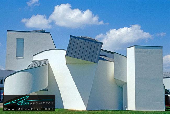موزه طراحی ویترا، معماری فرانک گری - 30 ساختمان دیدنی طراحی شده توسط فرانک گری