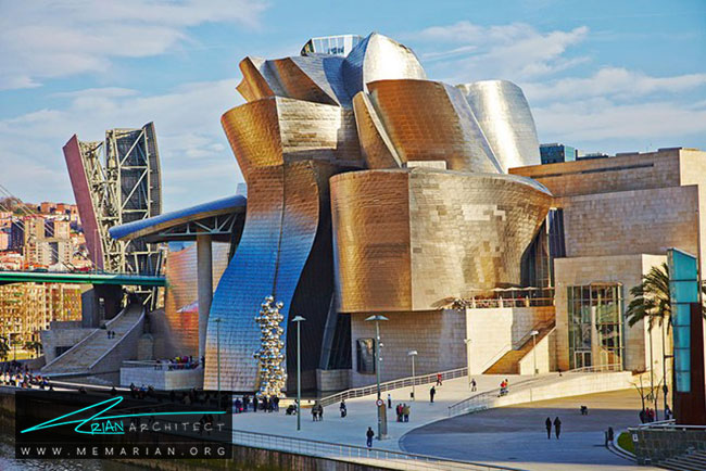 موزه گوگنهایم بیلبائو ، معماری فرانک گری - 30 ساختمان دیدنی طراحی شده توسط فرانک گری
