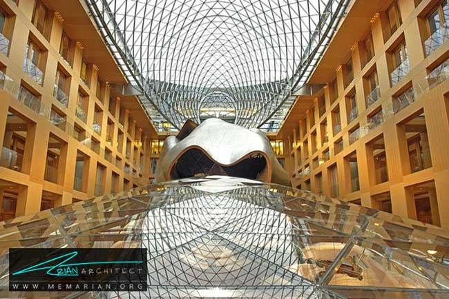 ساختمان بانک DZ، معماری فرانک گری - 30 ساختمان دیدنی طراحی شده توسط فرانک گری