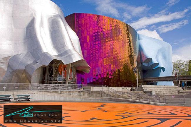 موزه EMP ، معماری فرانک گری - 30 ساختمان دیدنی طراحی شده توسط فرانک گری