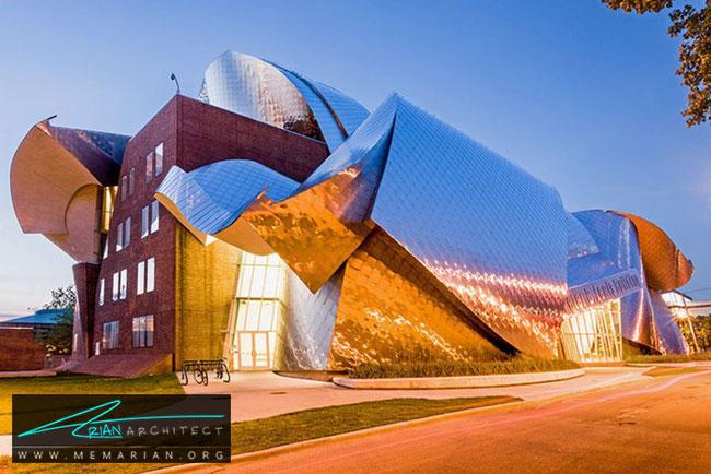 ساختمان پیتر بی لوئیس، معماری فرانک گری - 30 ساختمان دیدنی طراحی شده توسط فرانک گری