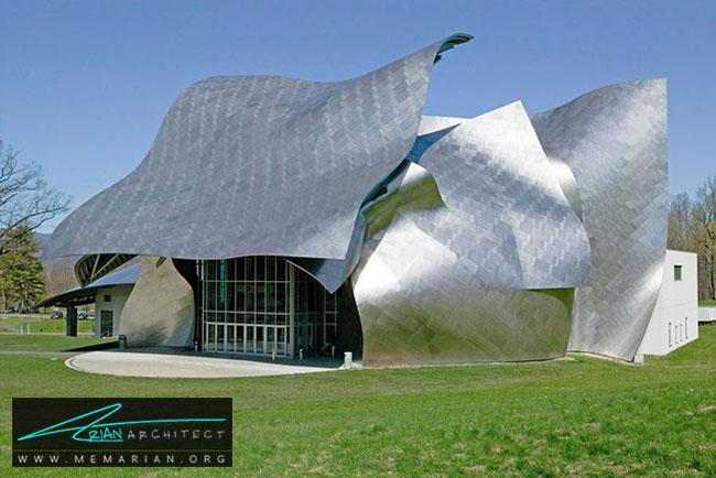 مرکز ریچارد بی فیشر، معماری فرانک گری - 30 ساختمان دیدنی طراحی شده توسط فرانک گری