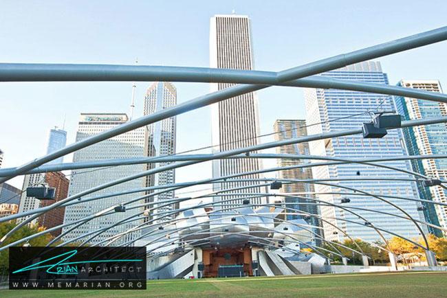 غرفه جی پریتزکر، معماری فرانک گری - 30 ساختمان دیدنی طراحی شده توسط فرانک گری