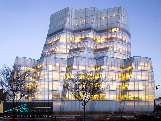 ساختمان IAC ، معماری فرانک گری - 30 ساختمان دیدنی طراحی شده توسط فرانک گری