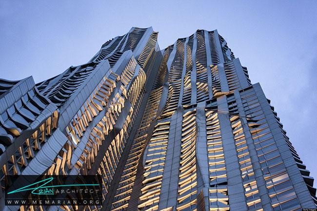 برج بیکمن، معماری فرانک گری - 30 ساختمان دیدنی طراحی شده توسط فرانک گری