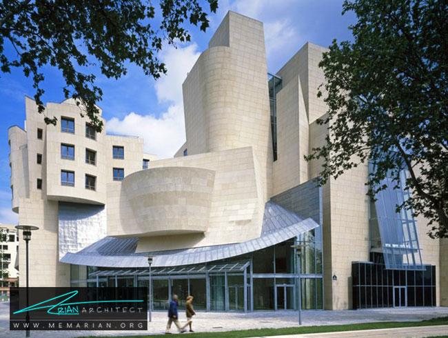 ساختمان سینما فرانسه، معماری فرانک گری - 30 ساختمان دیدنی طراحی شده توسط فرانک گری