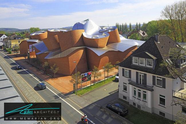 مارتا هرفورد، معماری فرانک گری - 30 ساختمان دیدنی طراحی شده توسط فرانک گری