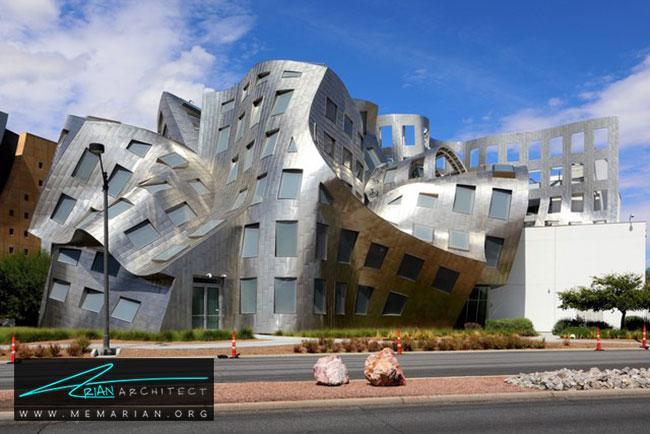 مرکز لو رووو، معماری فرانک گری - 30 ساختمان دیدنی طراحی شده توسط فرانک گری