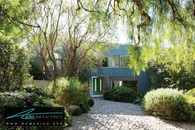 استديو و خانه رانولد ديويس، معماری فرانک گری - 30 ساختمان دیدنی طراحی شده توسط فرانک گری