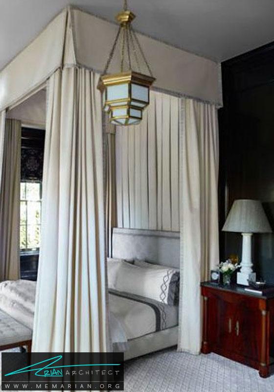 دیوار سیاه و ایجاد یک دکوراسیون شیک و ساده - دکوراسیون سیاه و سفید برای اتاق خواب