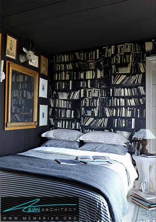 سقف را سیاه رنگ کنید - دکوراسیون رنگ سیاه