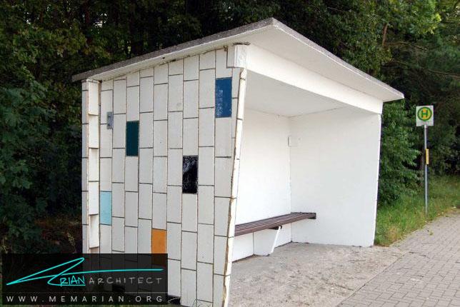 هنوز هم قابل استفاده در وستوم -معماری ایستگاه اتوبوس