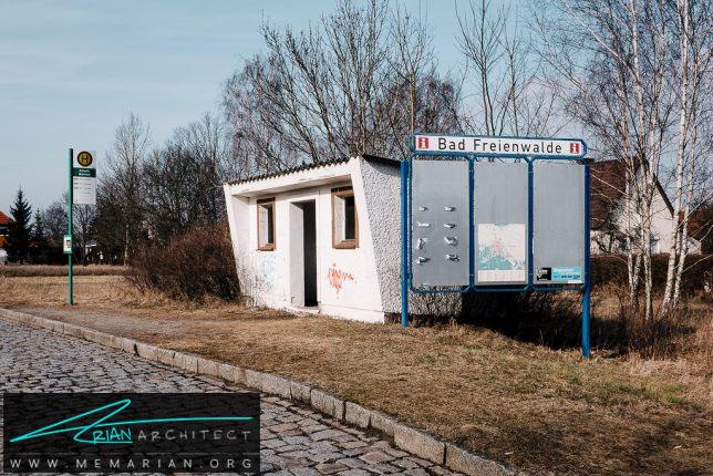 معماری ایستگاه اتوبوس گچی -معماری ایستگاه اتوبوس