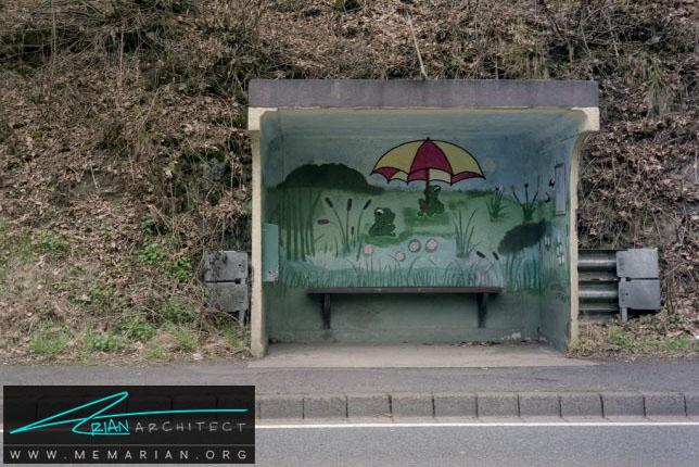 پناهگاه طوفان-معماری ایستگاه اتوبوس