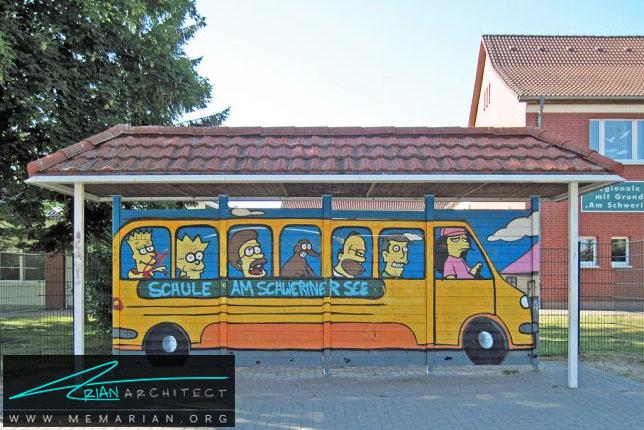 داس اتو-معماری ایستگاه اتوبوس