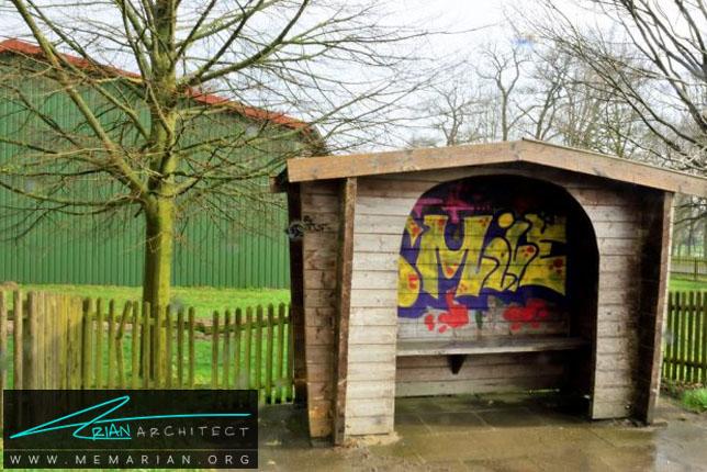 ایستگاه لبخند -معماری ایستگاه اتوبوس