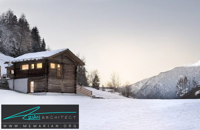 انبار صنوبر کاج در سوئیس توسط Alp'Architecture Sárl - انبار روستایی