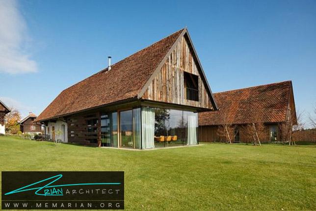 تبدیل انبار روستایی P به خانه ای مدرن توسط Gangoly & Kristine Architekten - انبار روستایی