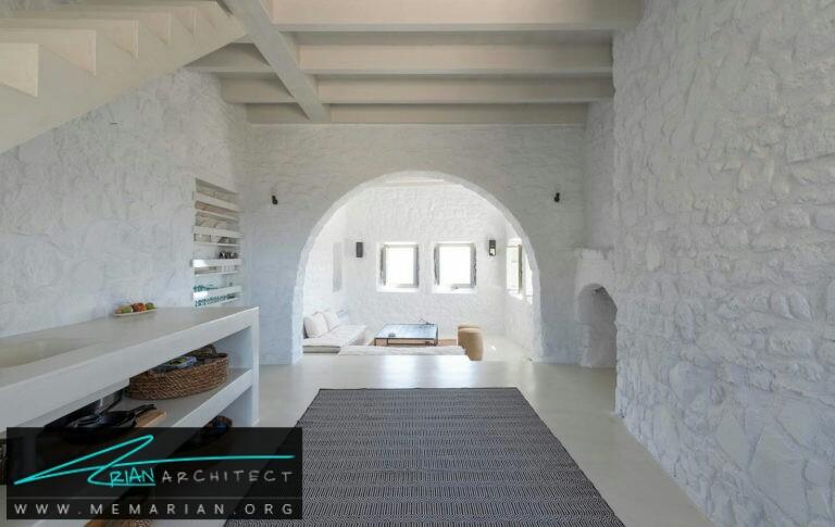 ویلا نمسیس - نیسیرو - معماری ویلا