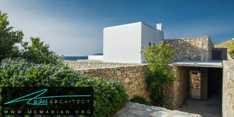 ویلا بایوس - مایکونوس - معماری ویلا