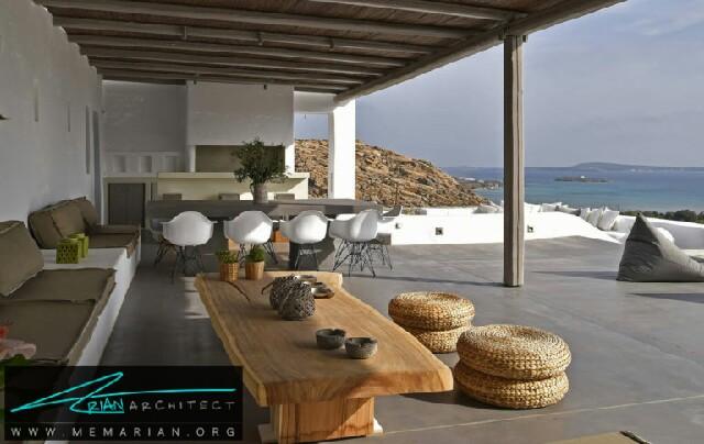 ویلا الا - جزیره پارس - معماری ویلا