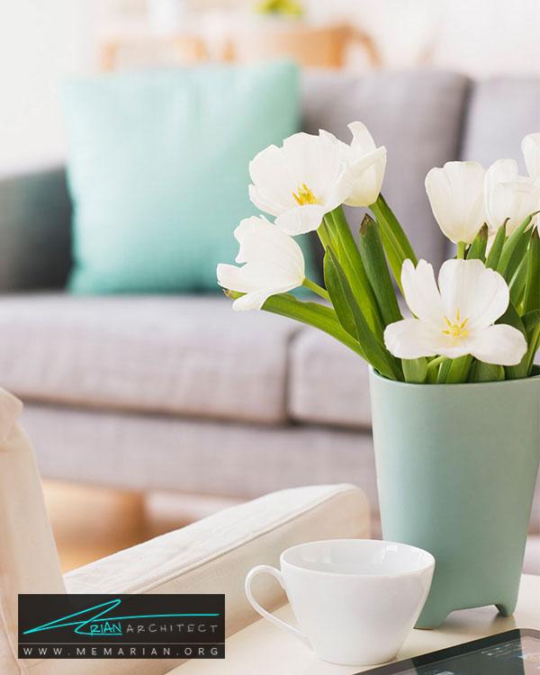 گل های تر و تازه - 15 مورد برای آوردن خوش شانسی در خانه