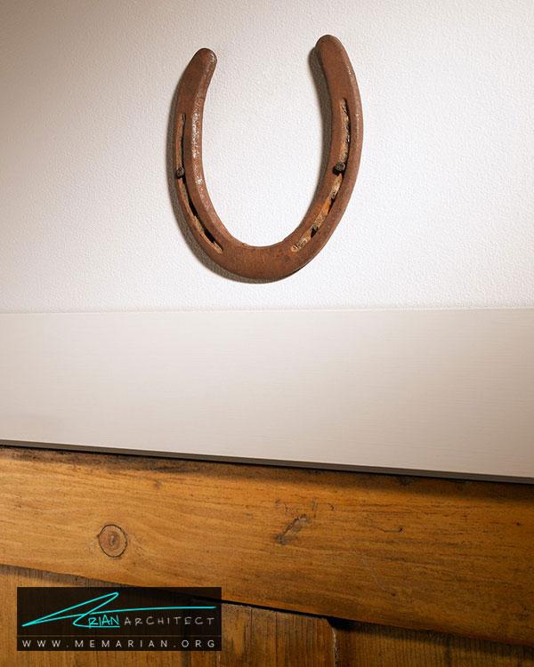 نعل اسب - 15 مورد برای آوردن خوش شانسی در خانه