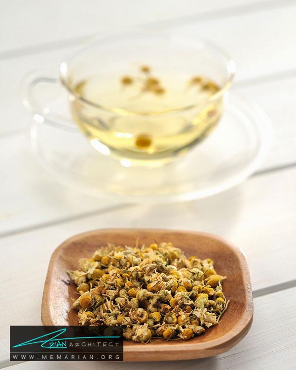 چای بابونه - 15 مورد برای آوردن خوش شانسی در خانه