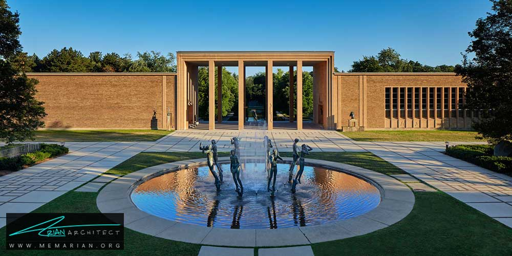 معماری مدرن با آثار معمارانی همچون فرانک لوید رایت و زاها حدید
