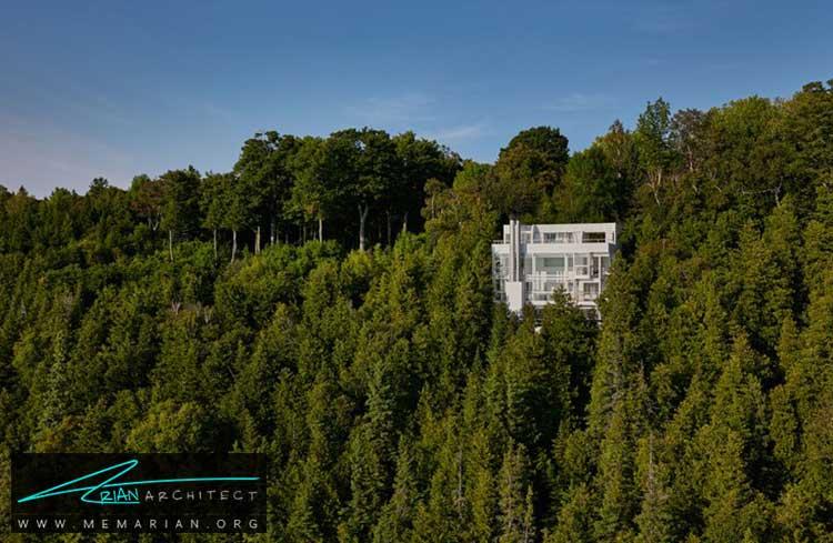 خانه جیمز و جین داگلاس - معماری مدرن را با آثار معمارانی همچون فرانک لوید رایت و زاها حدید کشف کنید