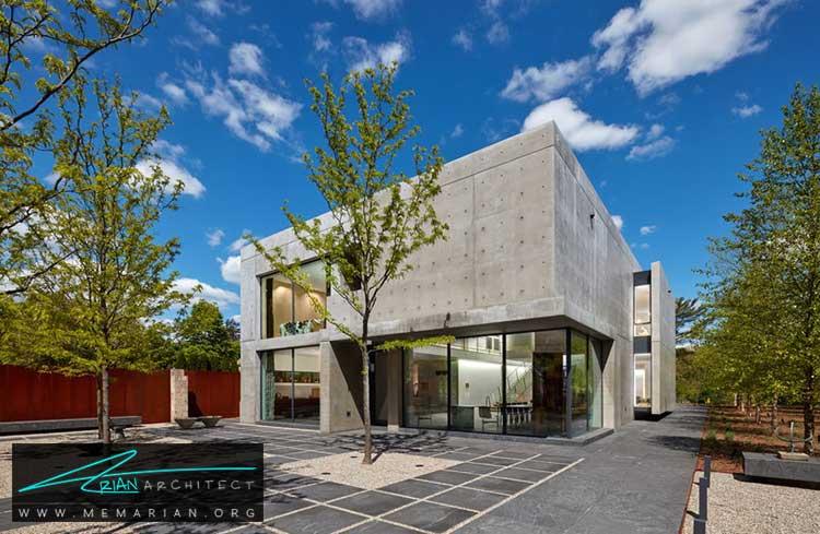 خانه لیندا درسنر - معماری مدرن را با آثار معمارانی همچون فرانک لوید رایت و زاها حدید کشف کنید