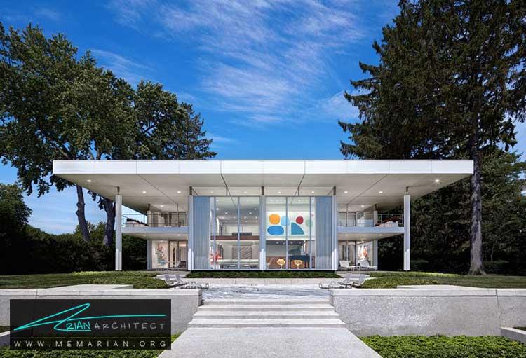خانه واکرهاوکینز فری - معماری مدرن را با آثار معمارانی همچون فرانک لوید رایت و زاها حدید کشف کنید