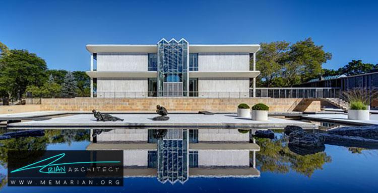مرکز کنفرانس مک گرگور - معماری مدرن را با آثار معمارانی همچون فرانک لوید رایت و زاها حدید کشف کنید