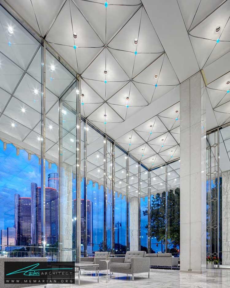 ساختمان شرکت گاز میشیگان - معماری مدرن را با آثار معمارانی همچون فرانک لوید رایت و زاها حدید کشف کنید