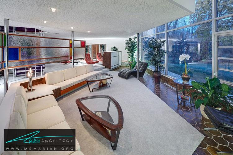 خانه رابرت و باربارا شوارتز - معماری مدرن را با آثار معمارانی همچون فرانک لوید رایت و زاها حدید کشف کنید