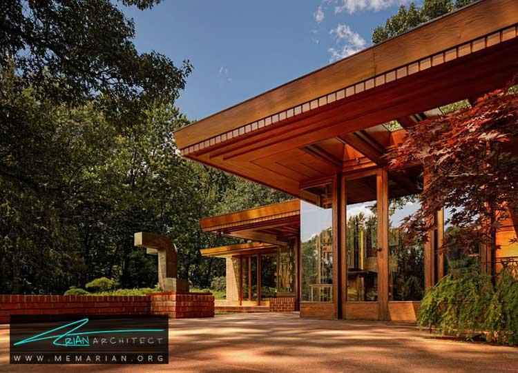خانه ملوین ماکسول و سارا اسمیت - معماری مدرن را با آثار معمارانی همچون فرانک لوید رایت و زاها حدید کشف کنید