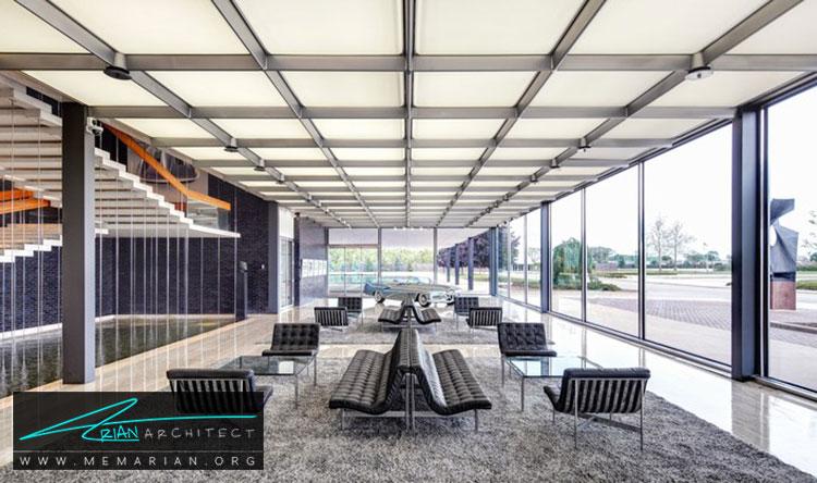 مرکز فنی جنرال موتور - معماری مدرن را با آثار معمارانی همچون فرانک لوید رایت و زاها حدید کشف کنید
